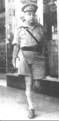 Frederick Perls in the uniform of the South African Army, 1944