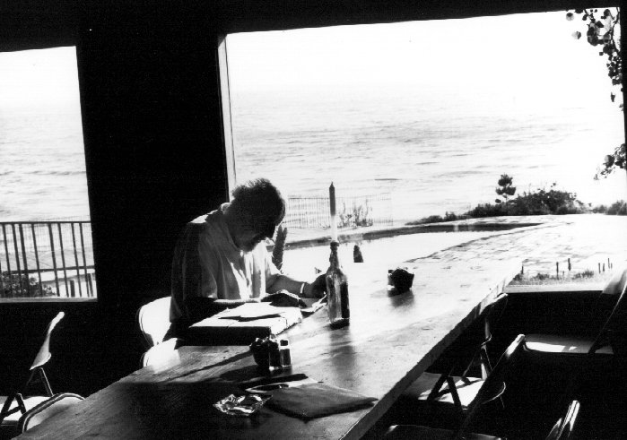Fritz in the Esalen Dining Room - 1968