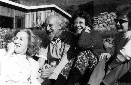 'Fritz' Perls on his first visit to the Esalen Institute in 1964